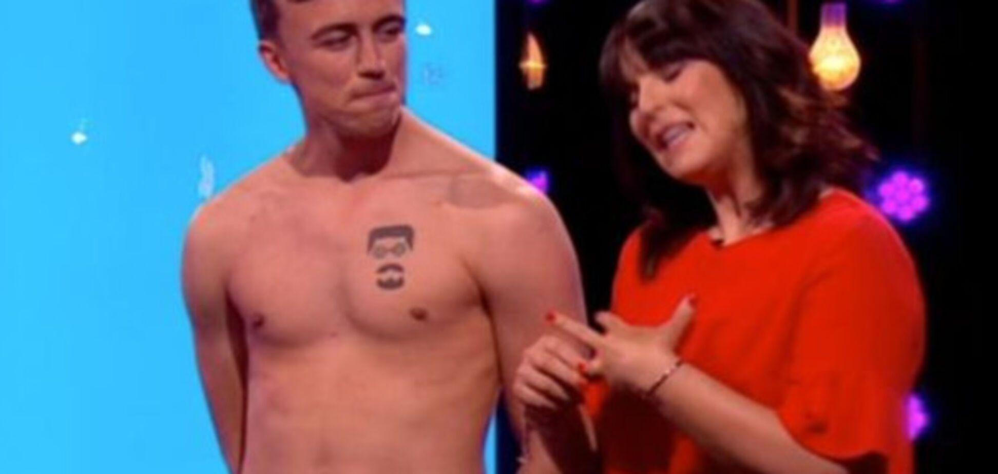 Британское ТВ-шоу шокировало зрителей обнаженкой