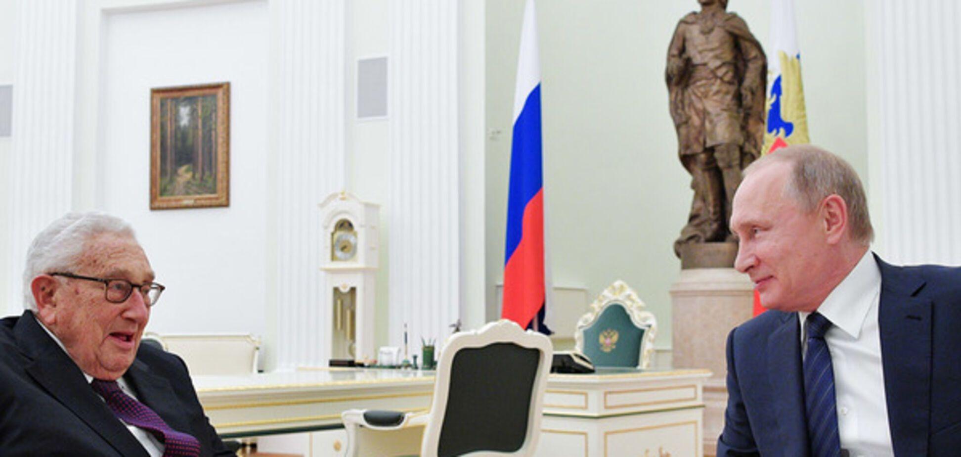 Путин и Генри Киссинджеру