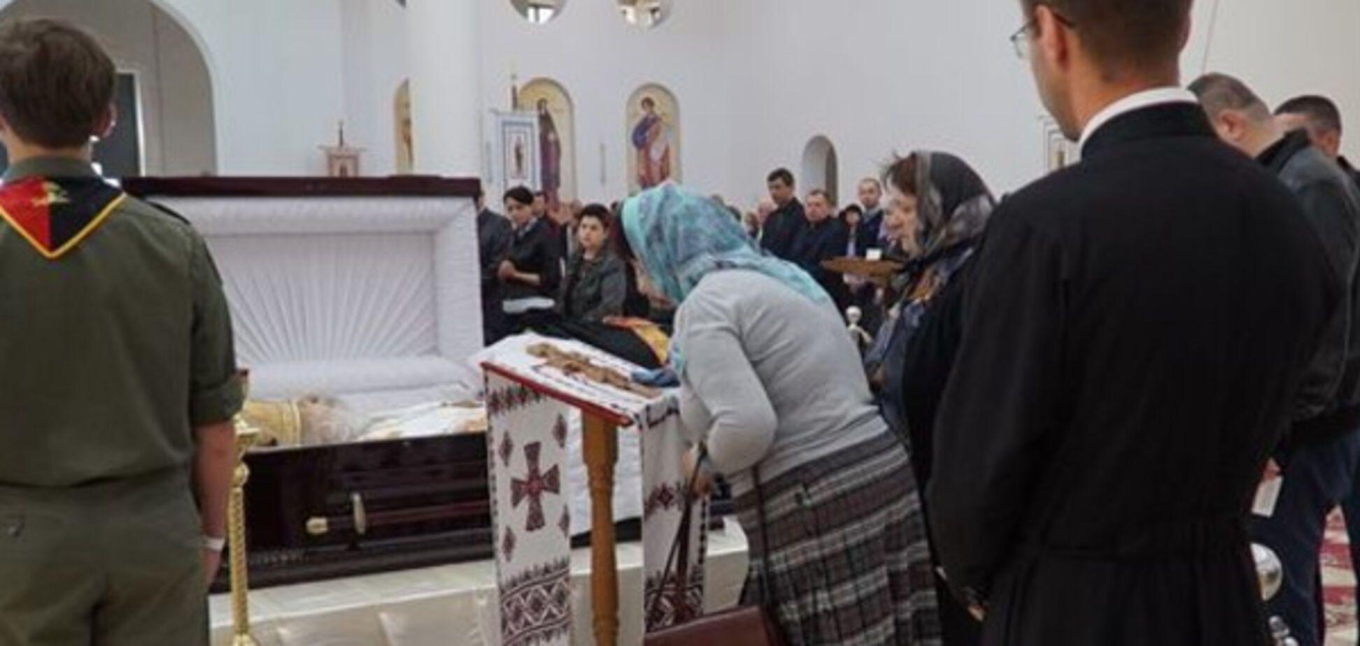 похорон Гузара