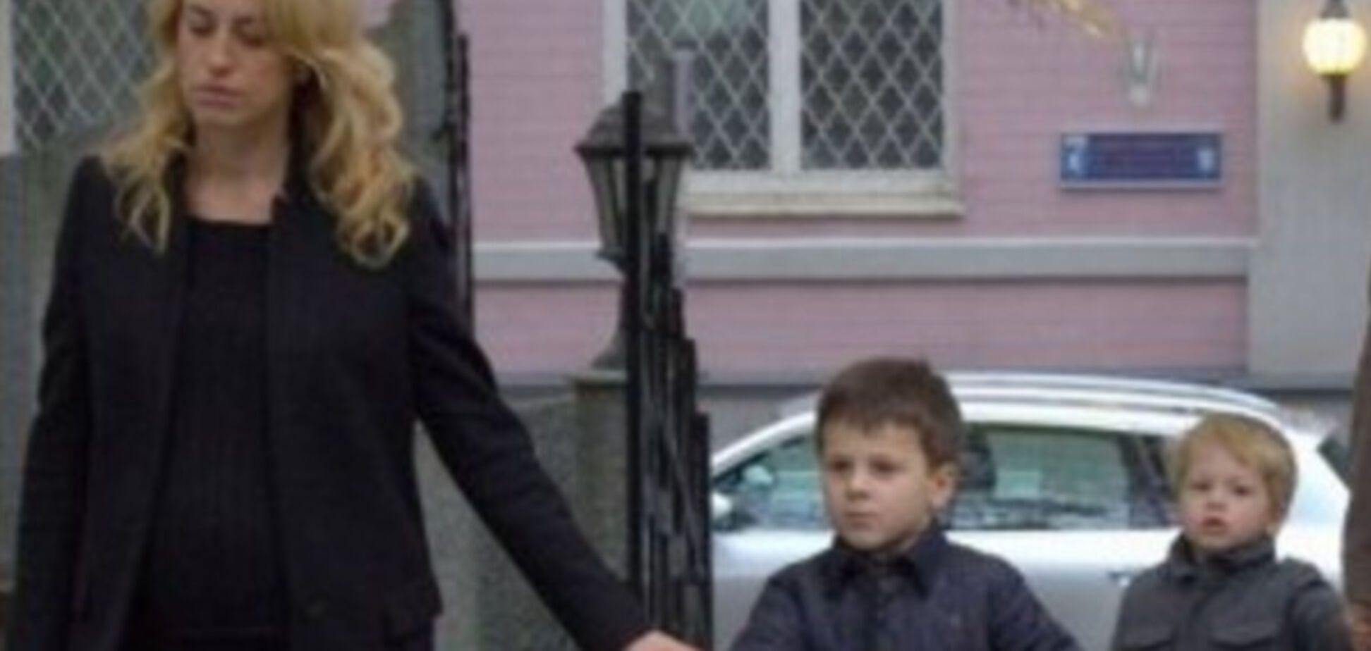 Дружина Насірова і діти