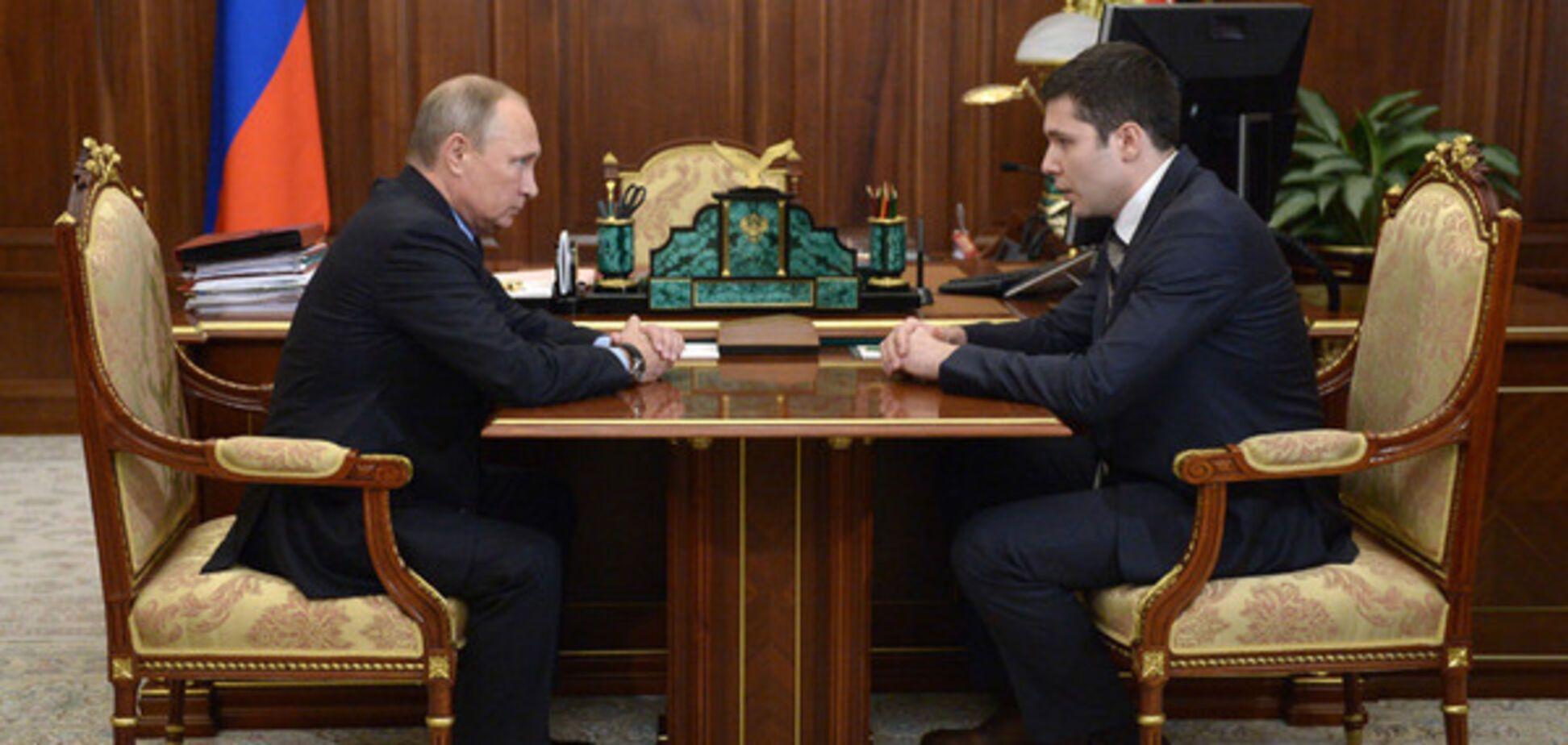 Путин и Алиханов