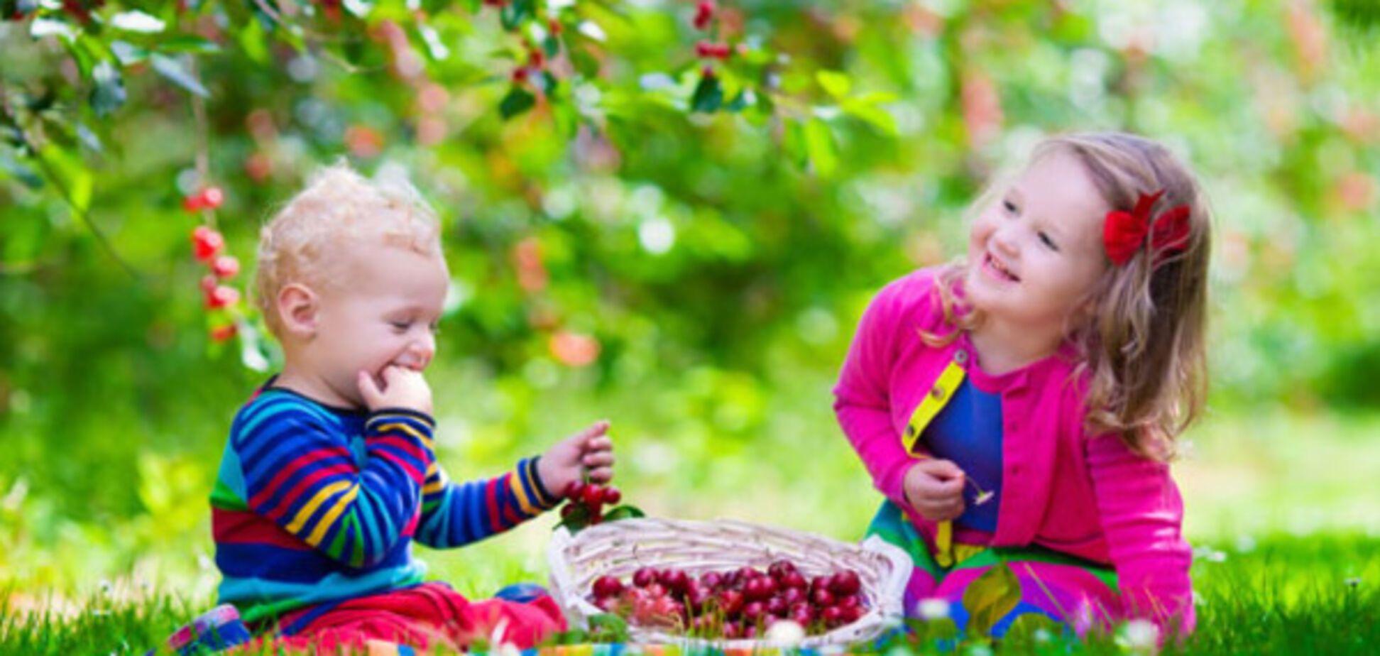 Черешня в детском меню: несколько важных фактов для родителей