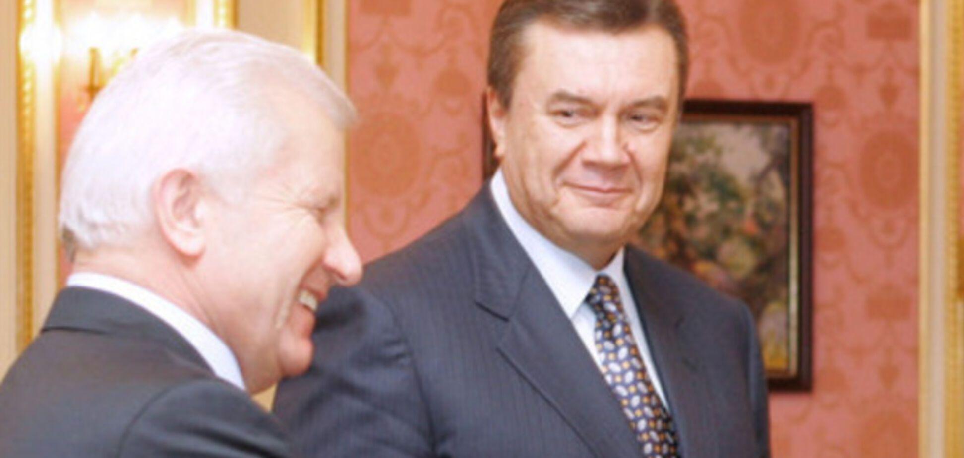 Мороз и Янукович