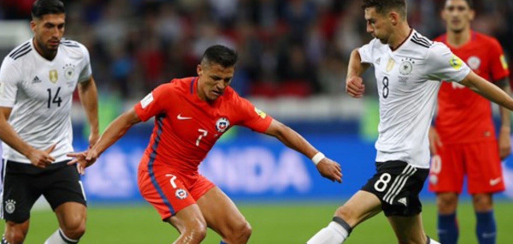 Чили Германия