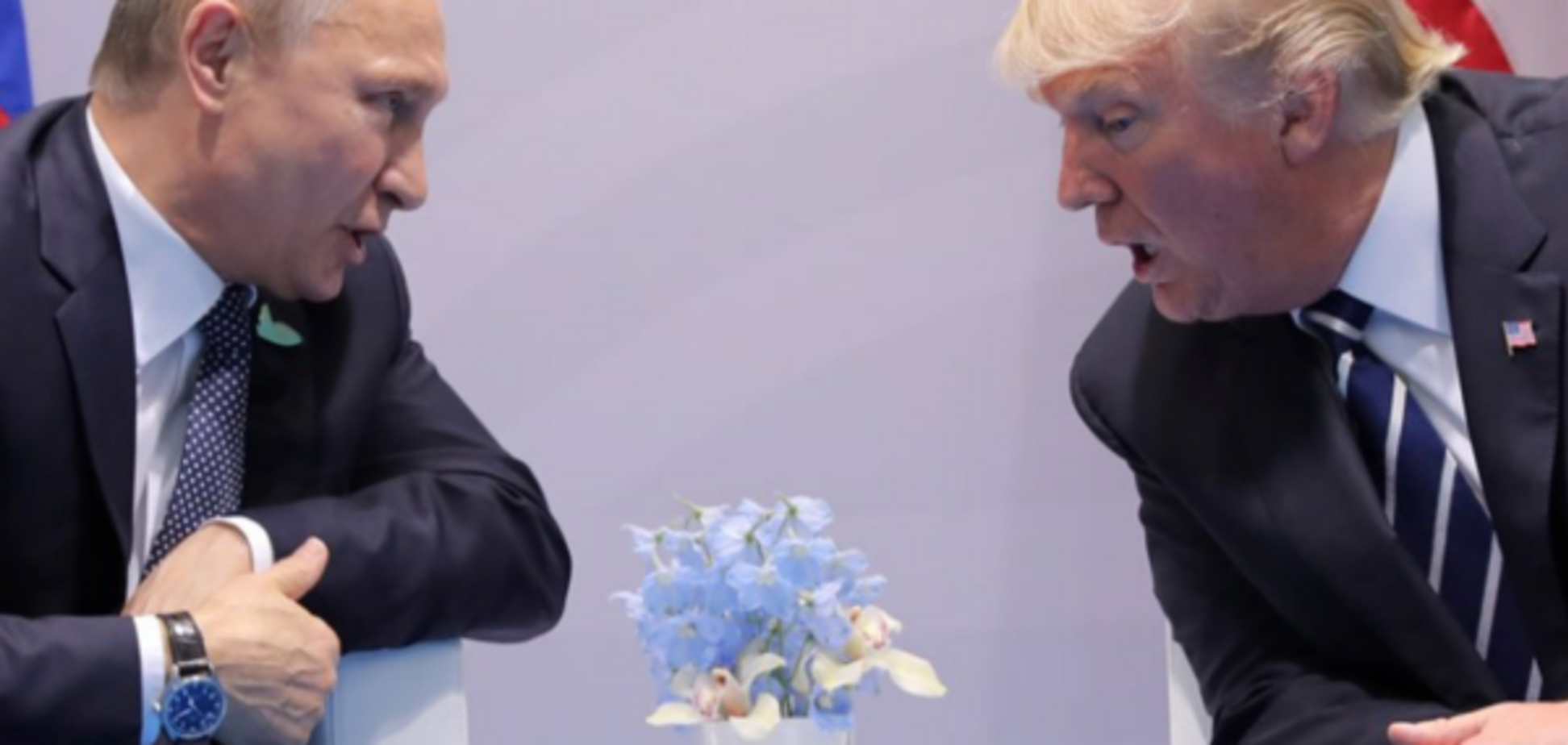 Володимир Путін, Дональд Трамп