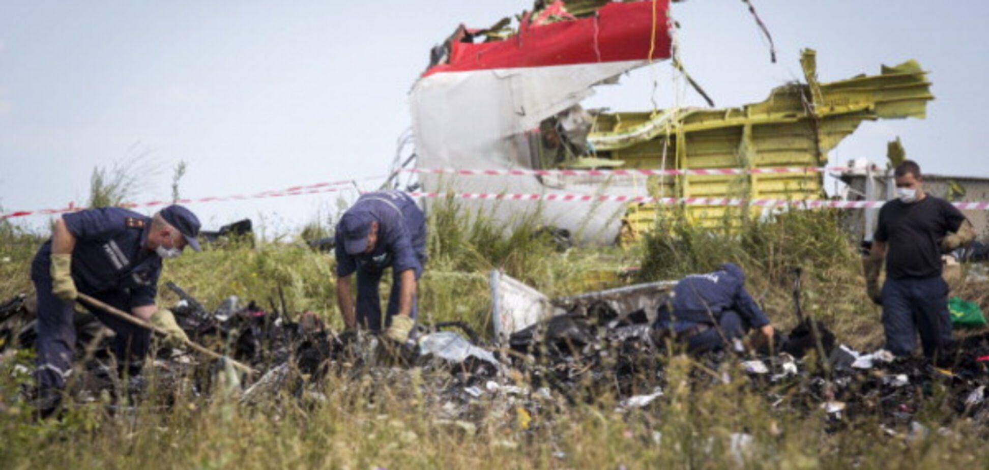 Збитий на Донбасі Boeing-777