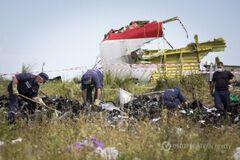 Сбитый на Донбассе Boeing-777