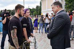 Порошенко сообщил хорошие вести для бойцов АТО