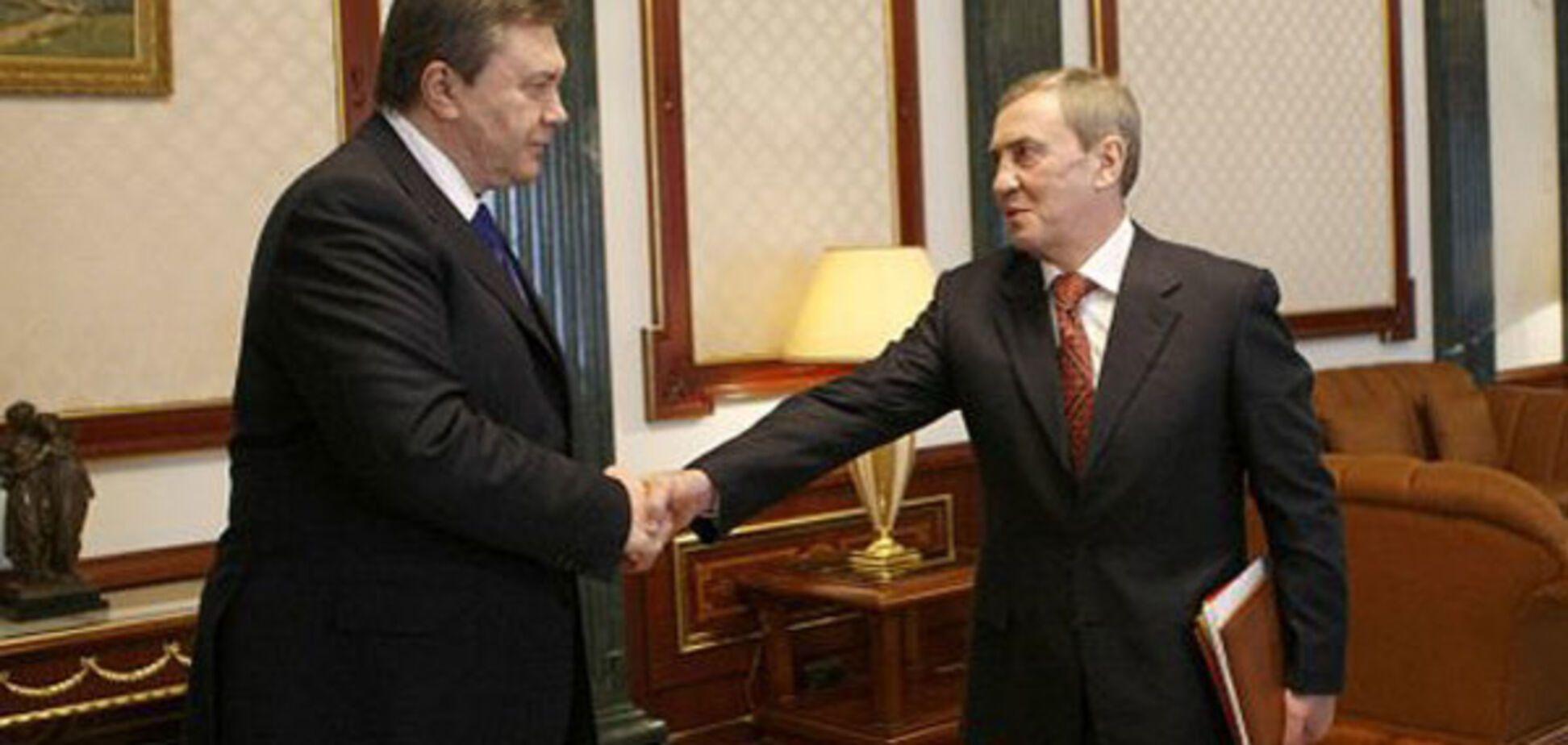 Виктор Янукович, Леонид Черновецкий