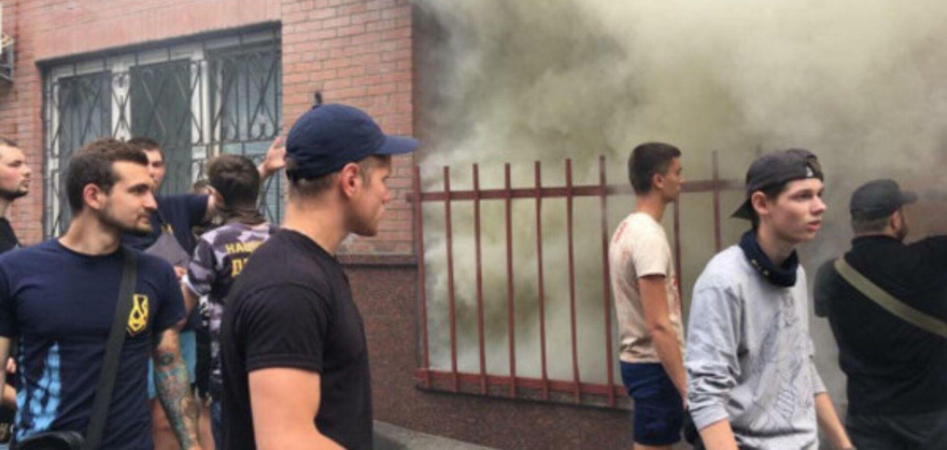 Учасники блокади Ради влаштували 'антисепаратистський рейд' у центрі Києва: з'явилися фото