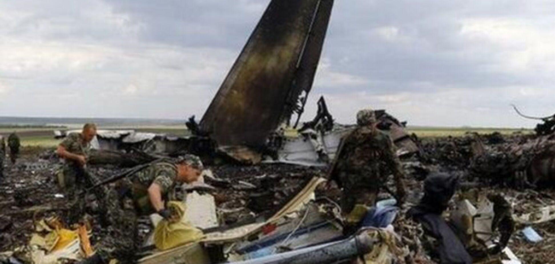 Ил-76 в Луганске