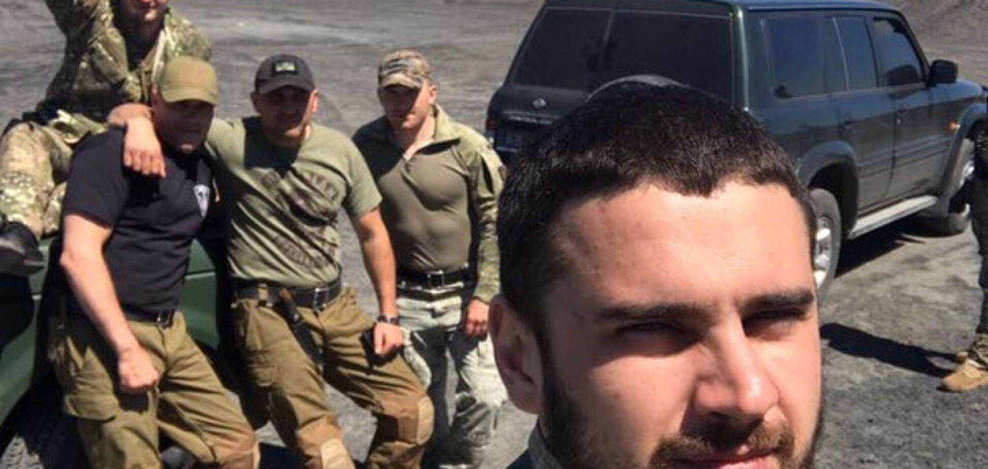 'Від'є*іться!' Поранений на Донбасі нардеп впав в істерику і показав свіже відео
