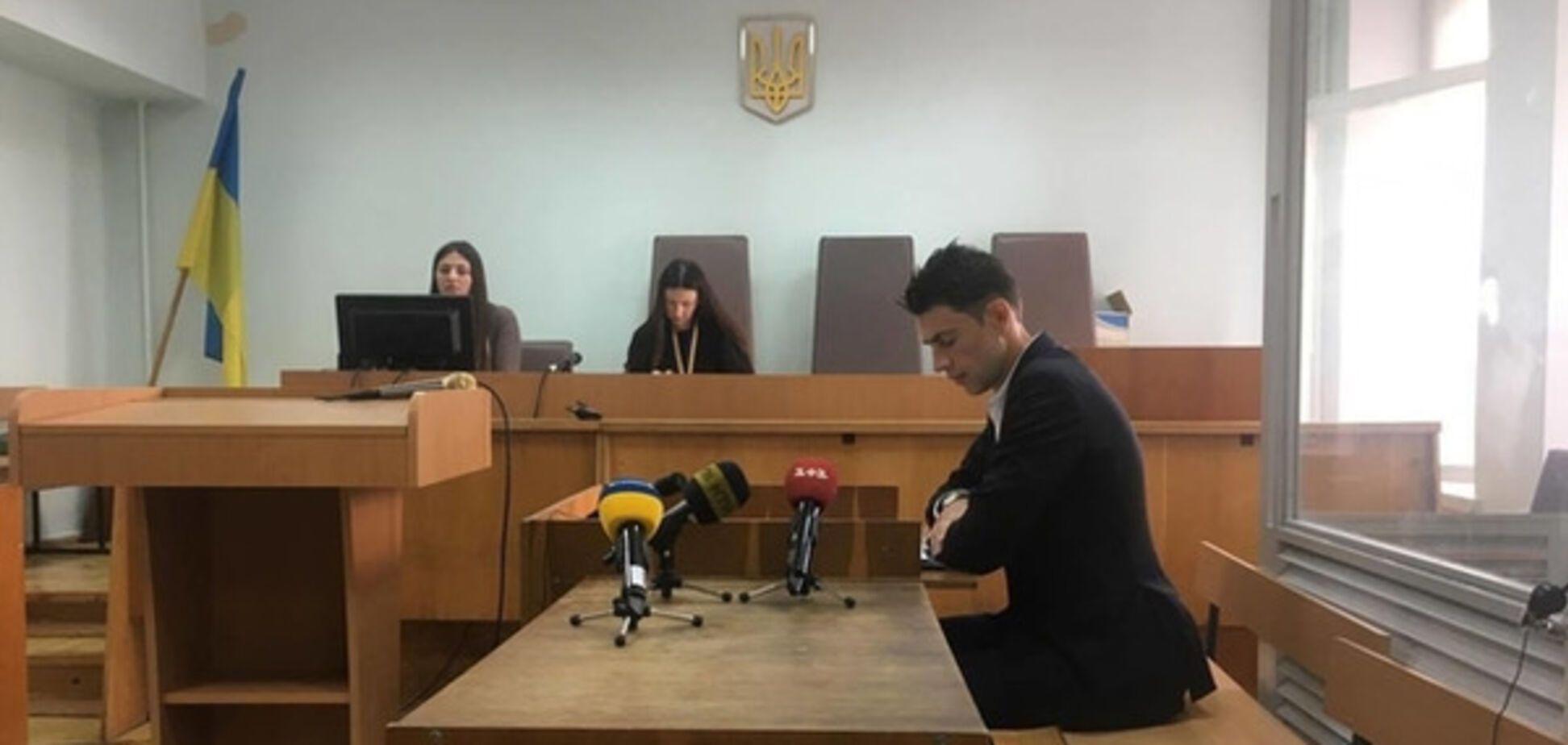 Віталій Седюк в суді
