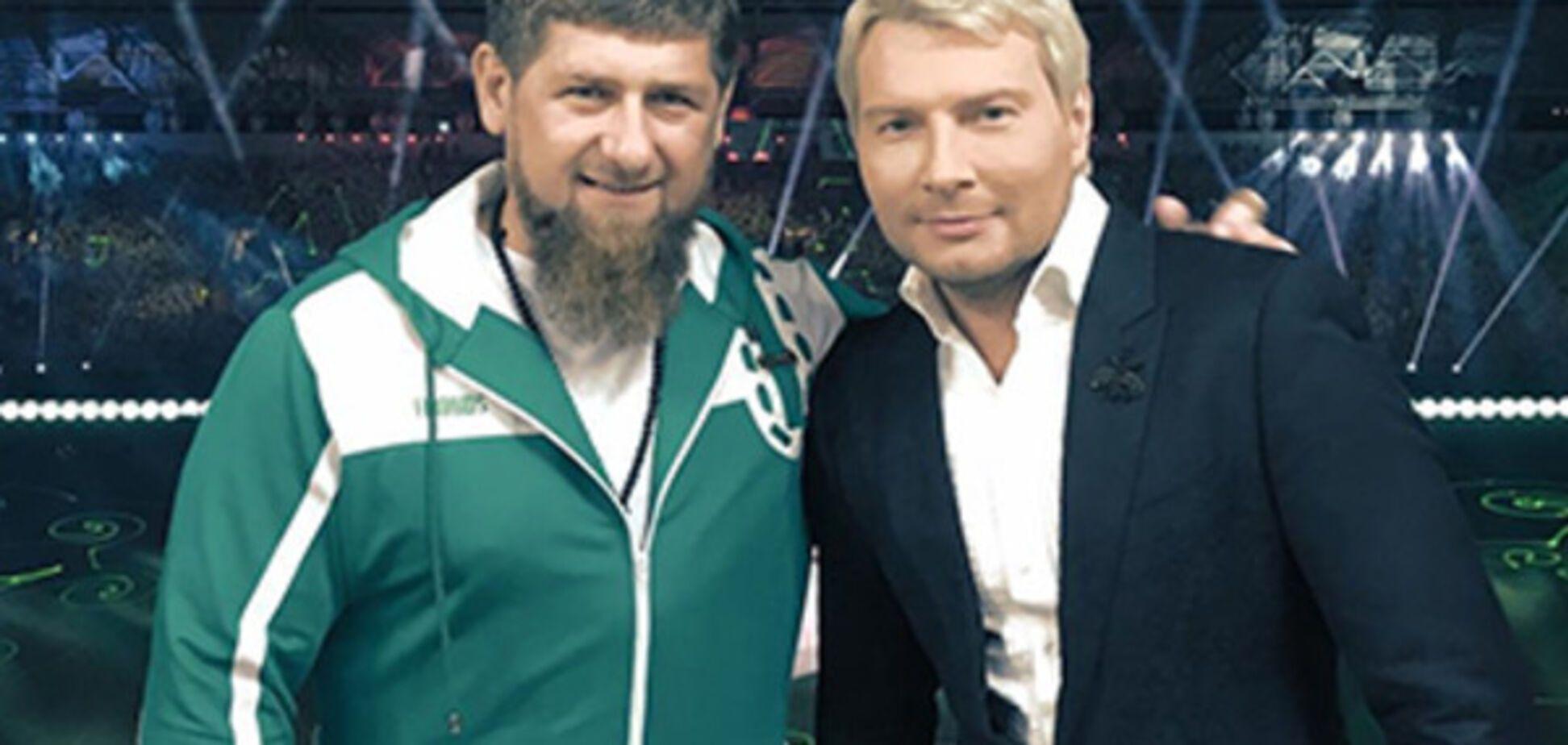 Рамзан Кадыров, Николай Басков