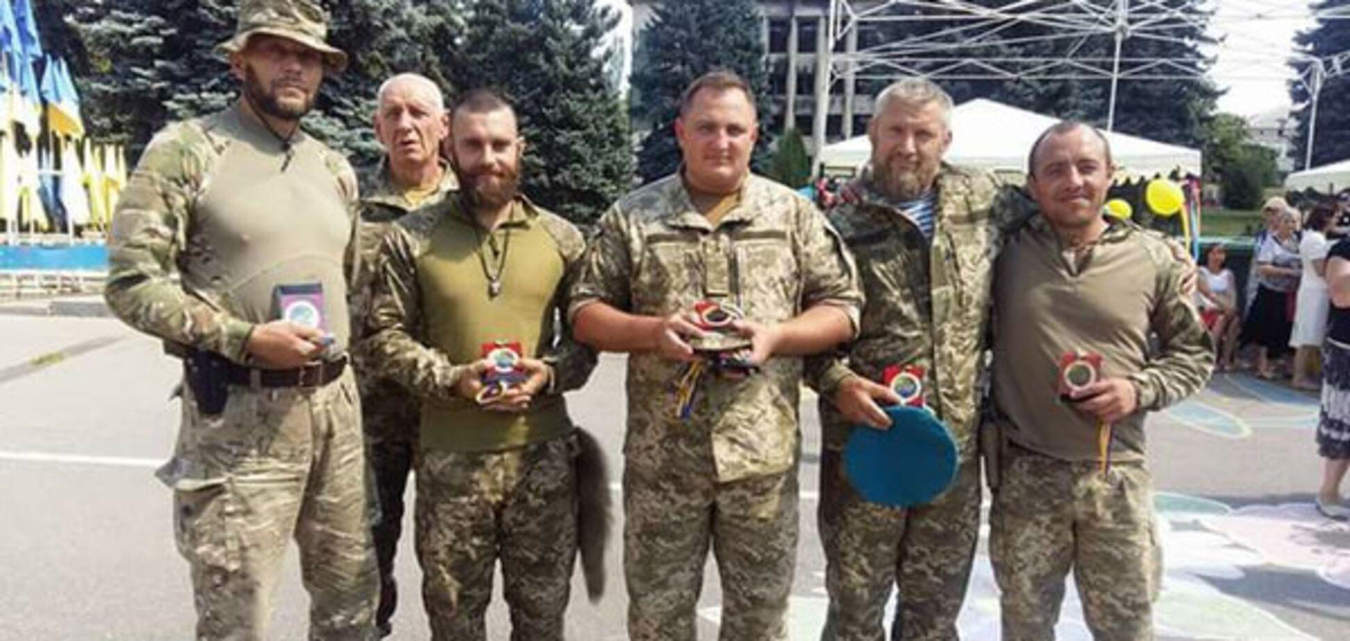 Українські військові в Торецькому