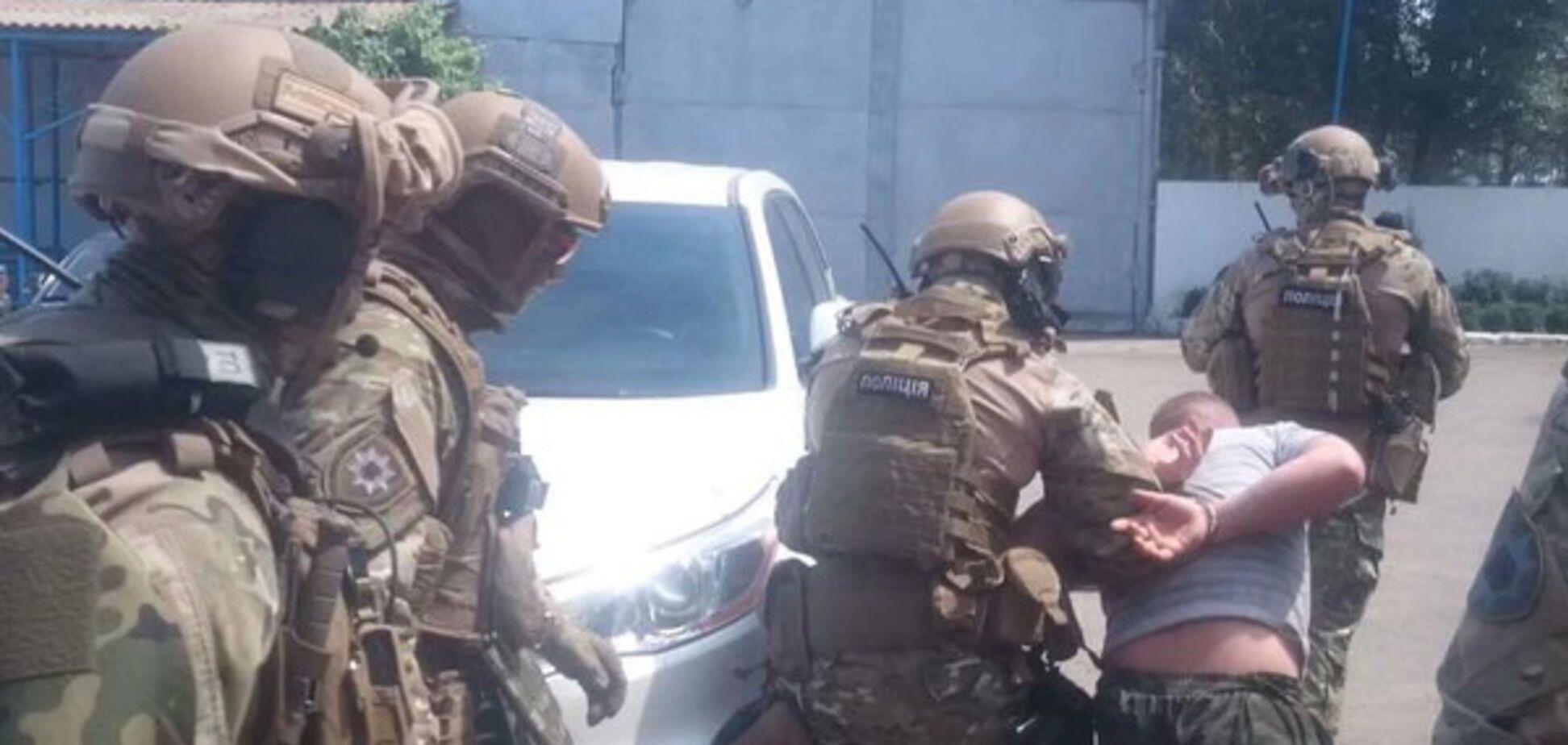 Задержание преступников на Днепропетровщине