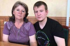 Агеев с матерью