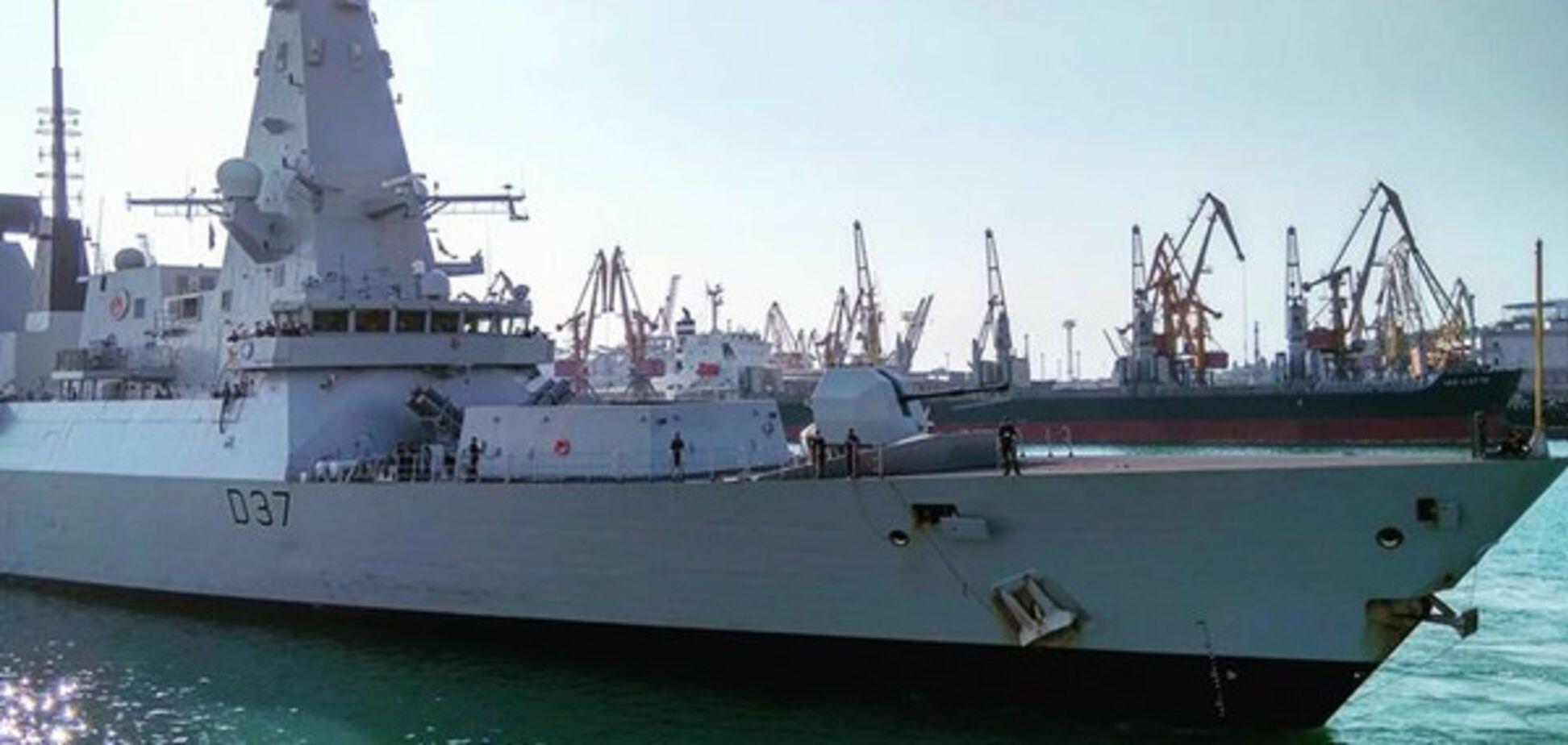 корабль НАТО D37 DUNCAN