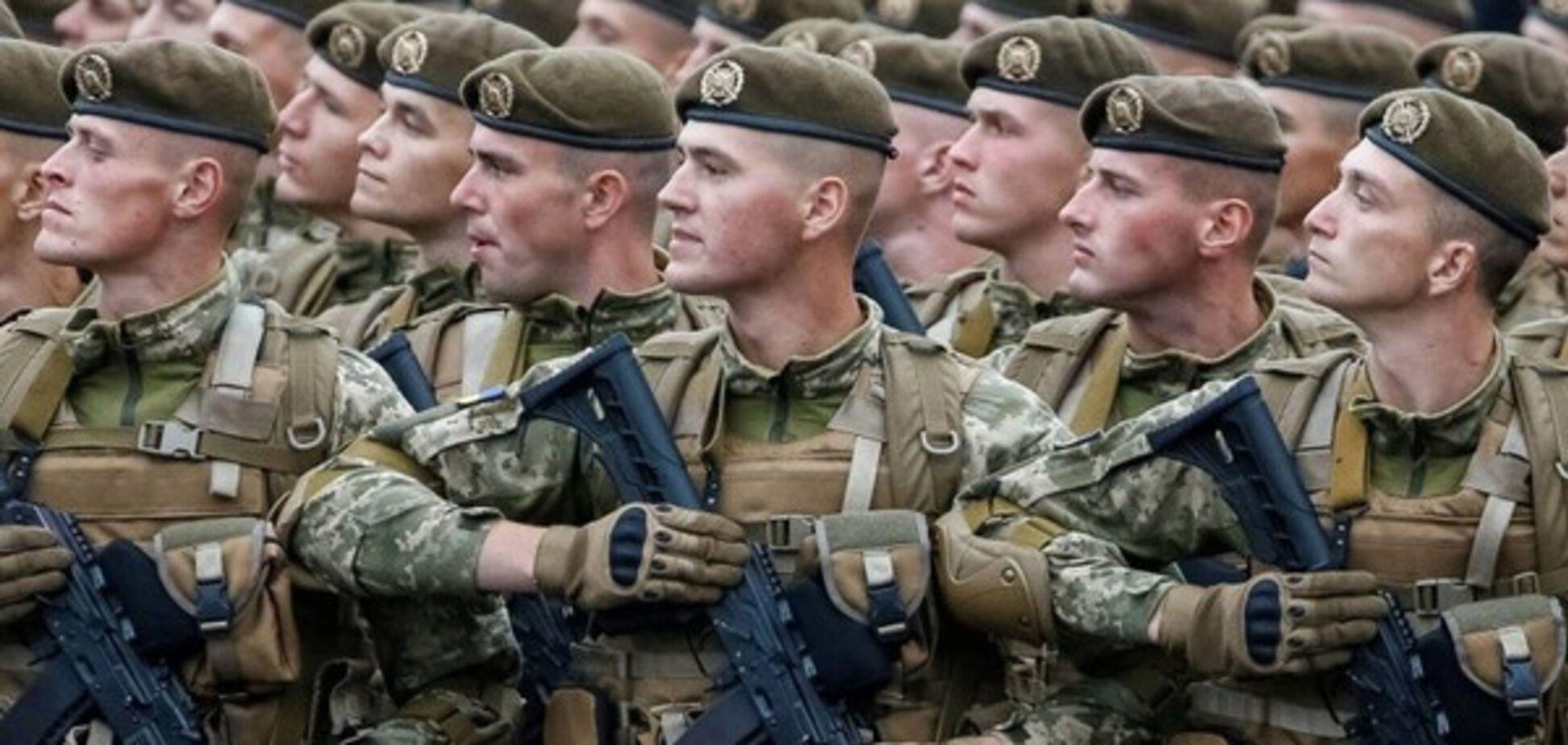 военный парад Крещатик Киев