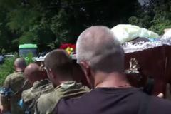 похорон погибшего в Днепре АТОшника