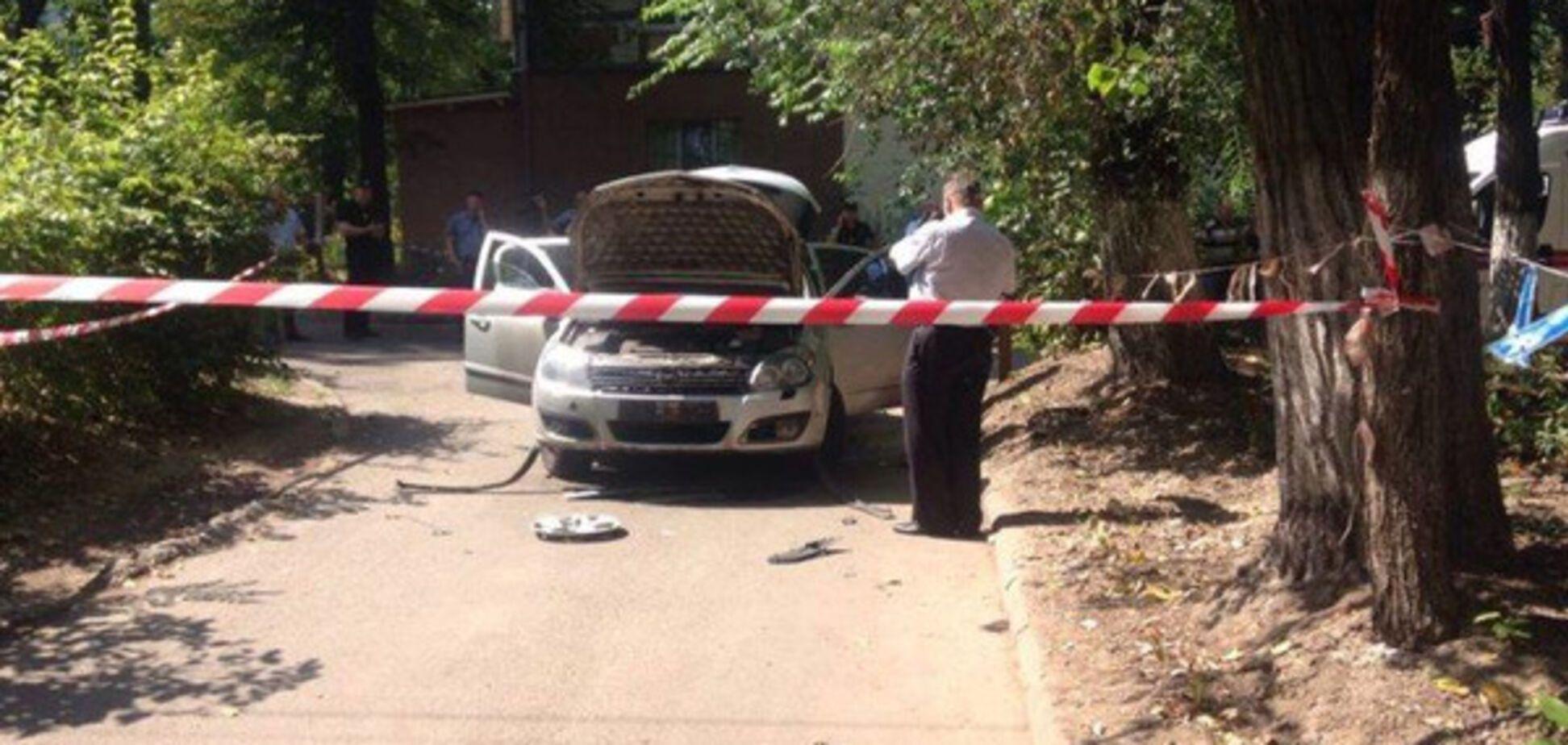 В Днепре взорвали авто