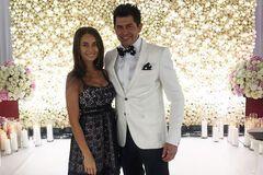 Андрей Джеджула и его будущая супруга Юлия