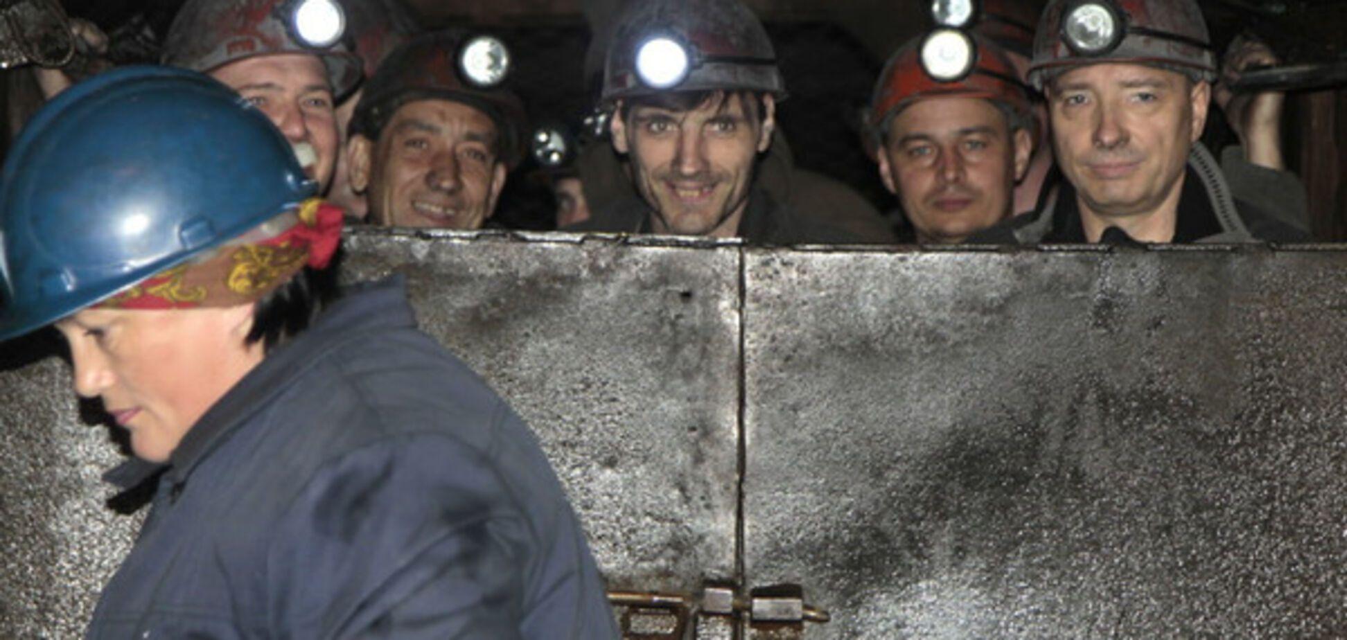 Донецк, шахтеры