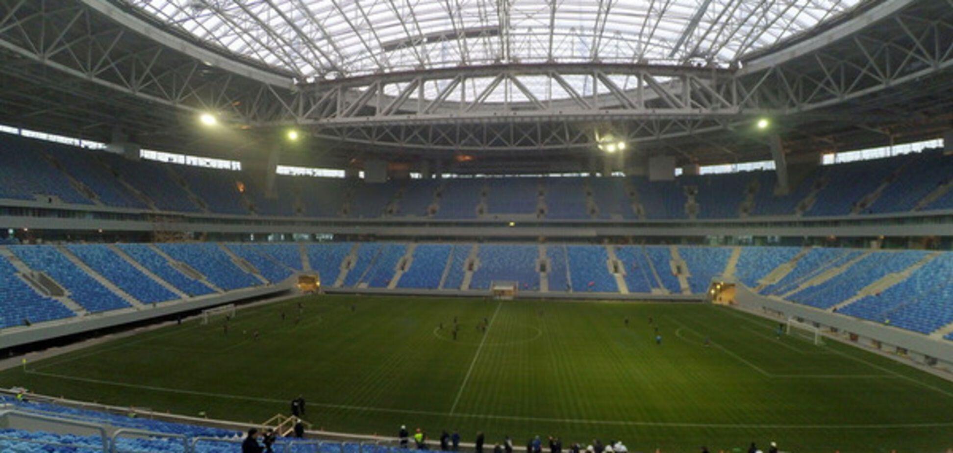 Стадіон Крестовский трибуни