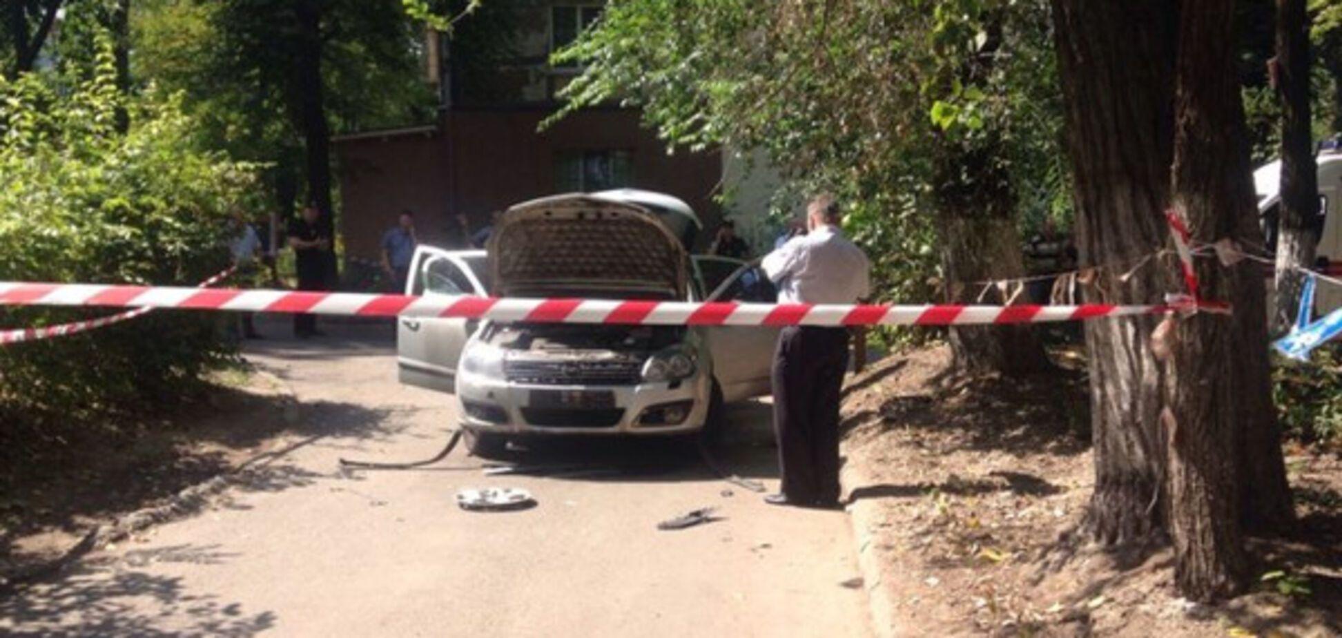 Взрыв автомобиля в Днепре