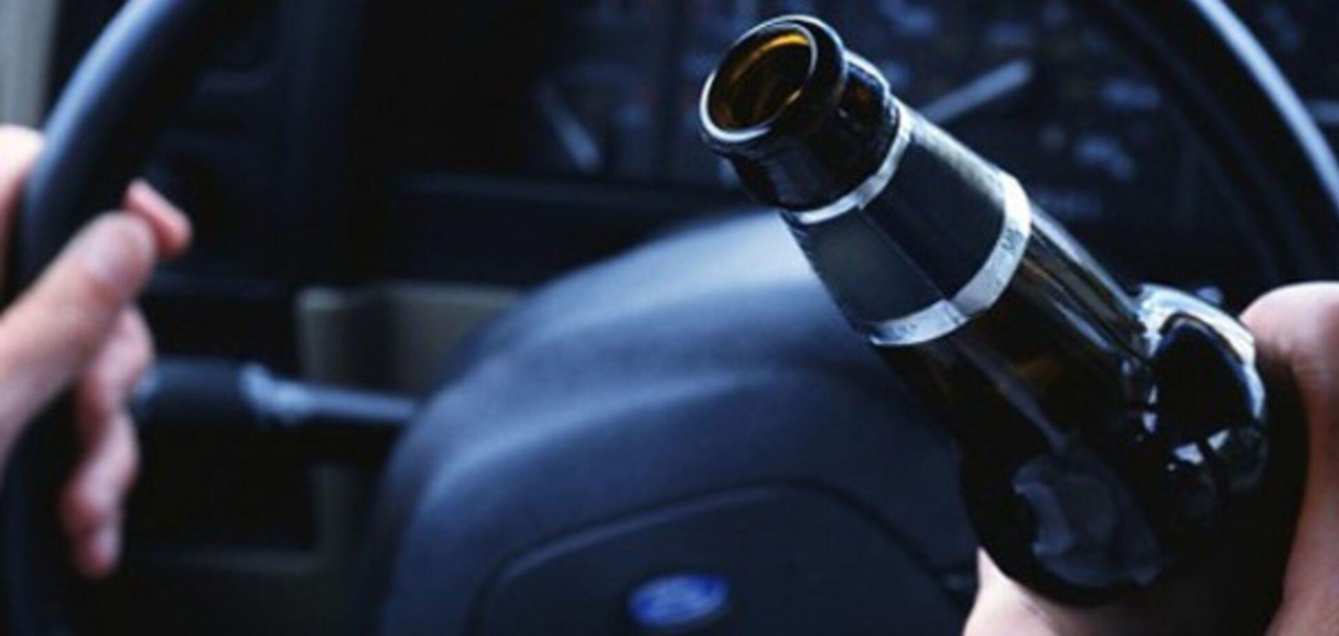 В Запорожье увеличилось количество пьяных водителей