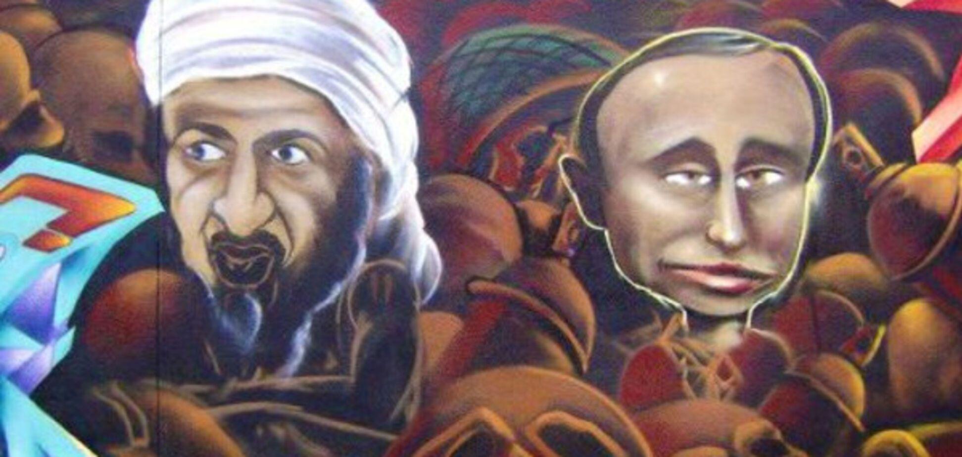 Владимир Путин и Усама бен Ладен