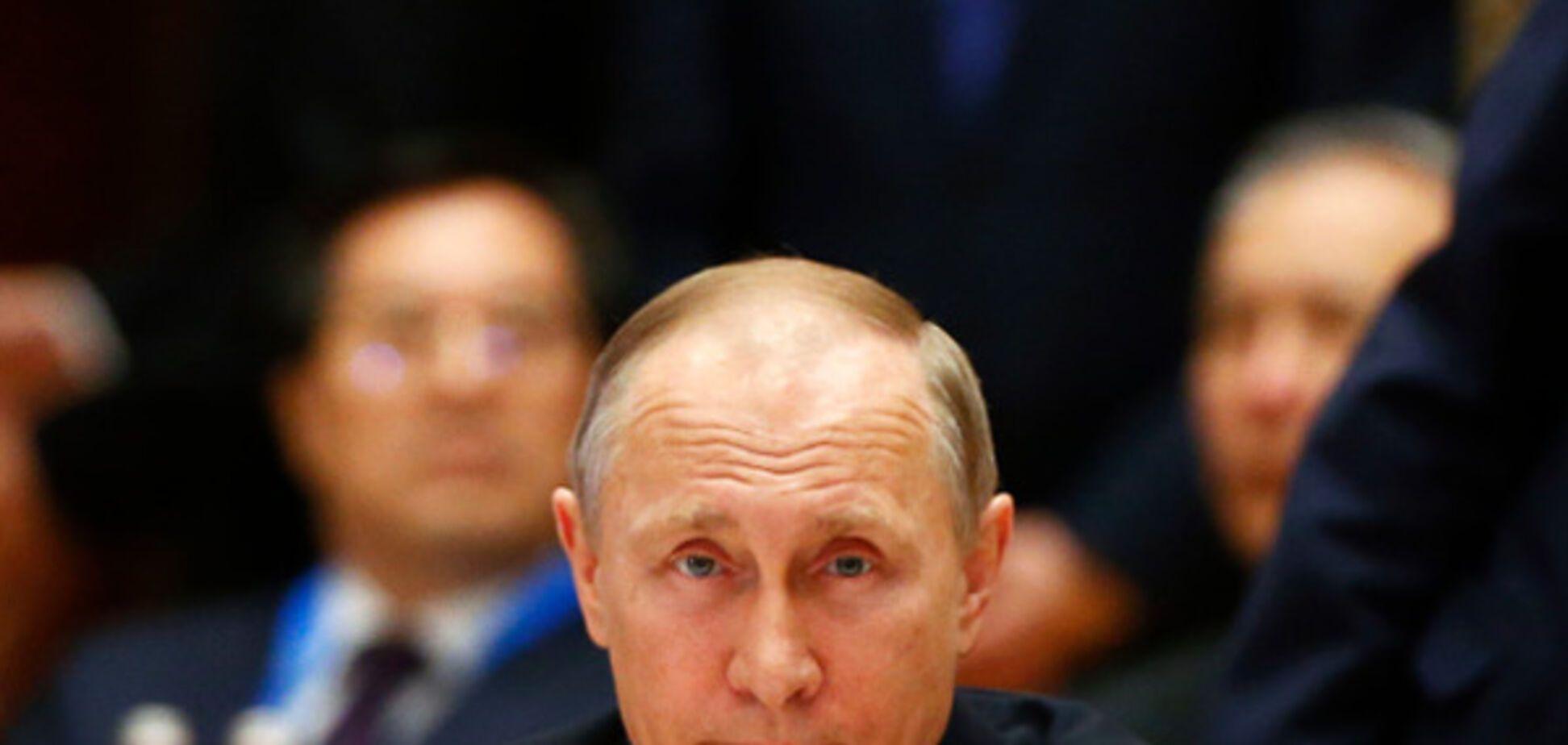 Путин впал в истерику