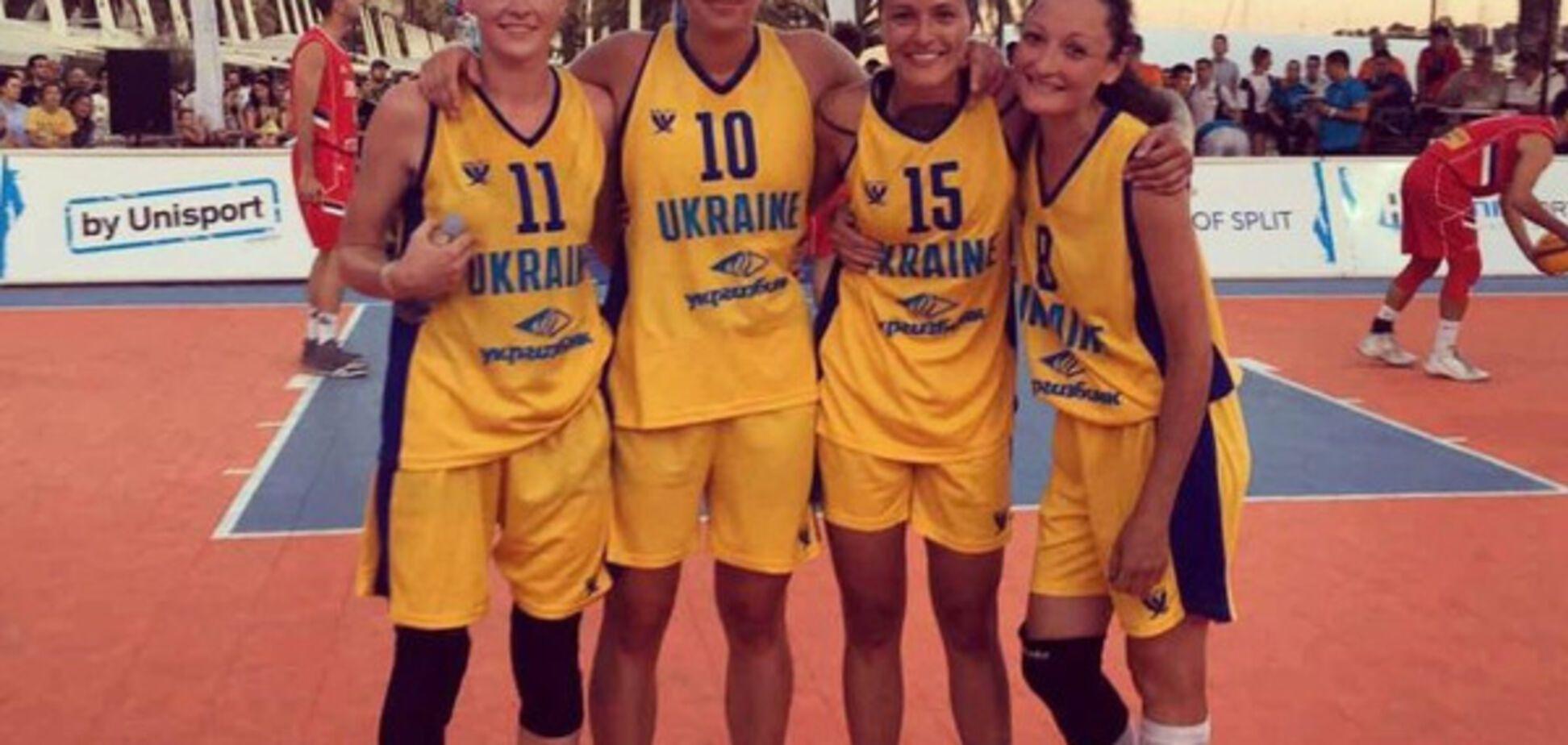 Женская студенческая сборная Украины по баскетболу 3х3