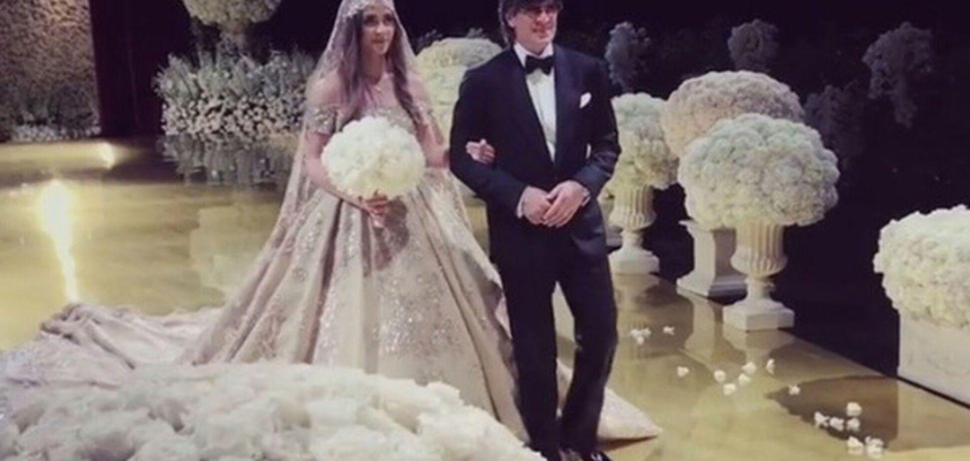 Голливуд такого не видел: появились уникальные кадры свадьбы детей российских олигархов