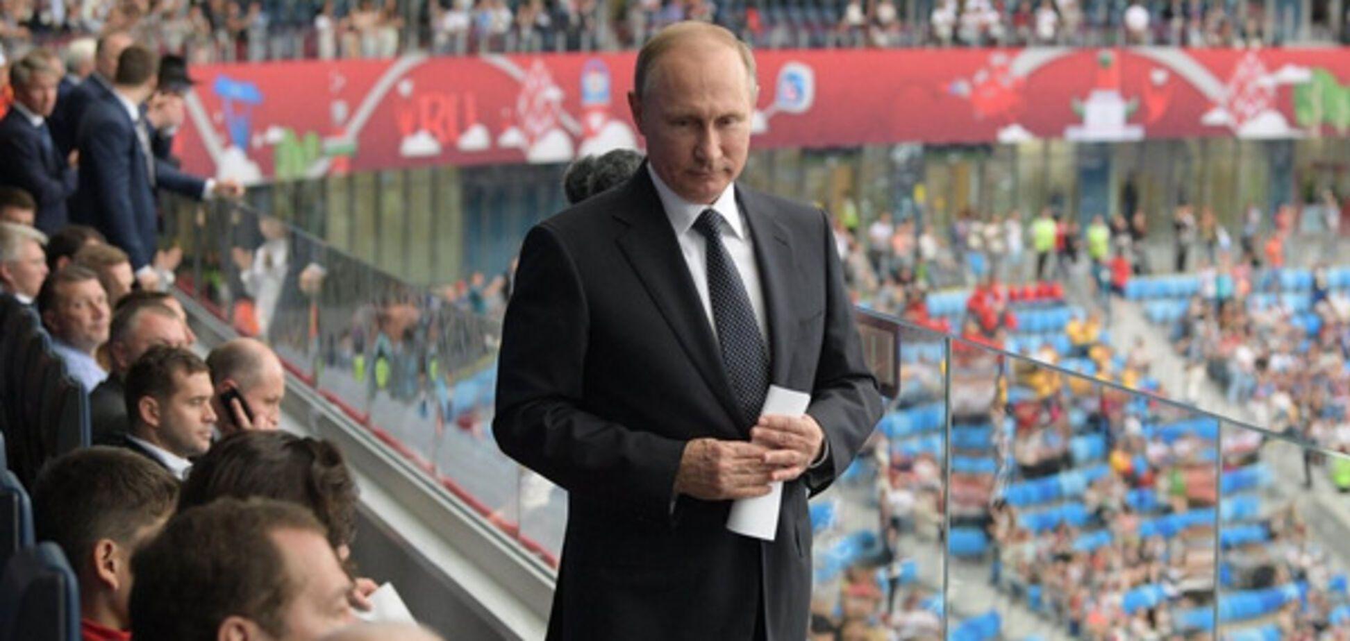 Путин сборная России