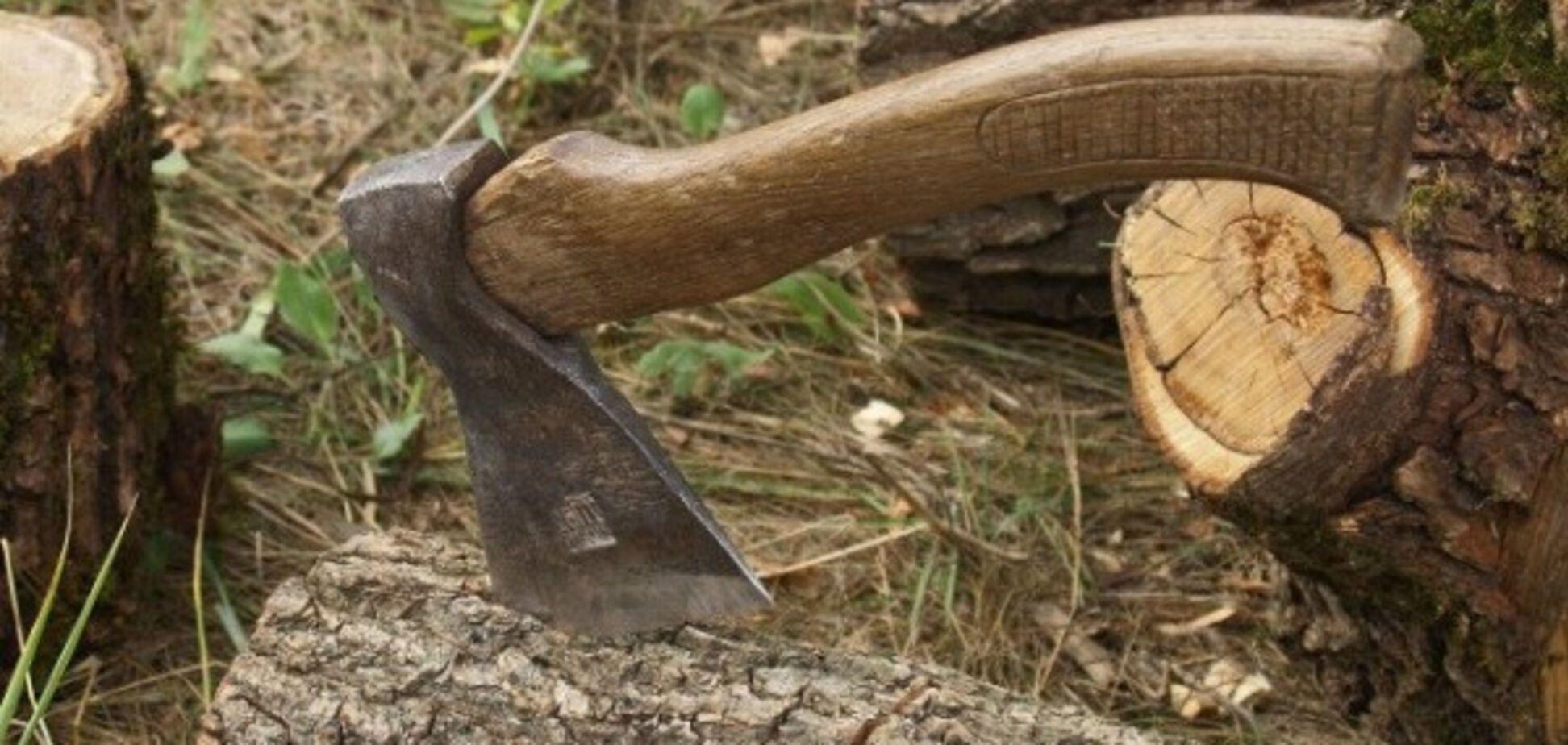 Хортицкий полк Запорожья помешал рубить лес лжесотрудникам лесхоза