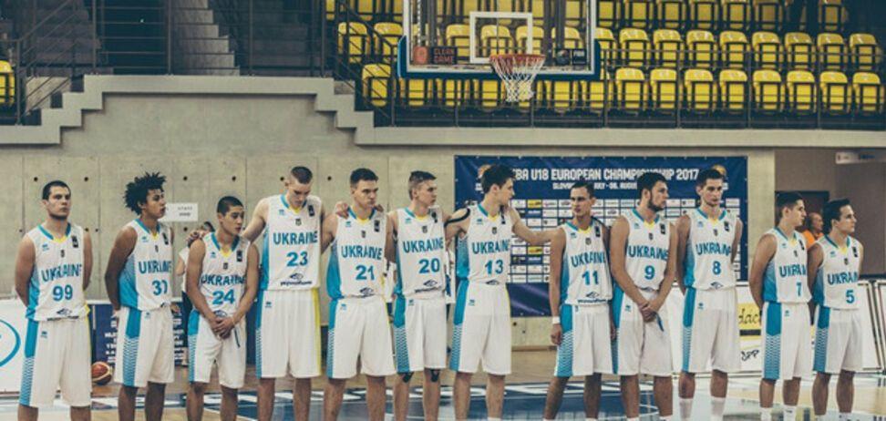 Юношеская сборная Украины по баскетболу