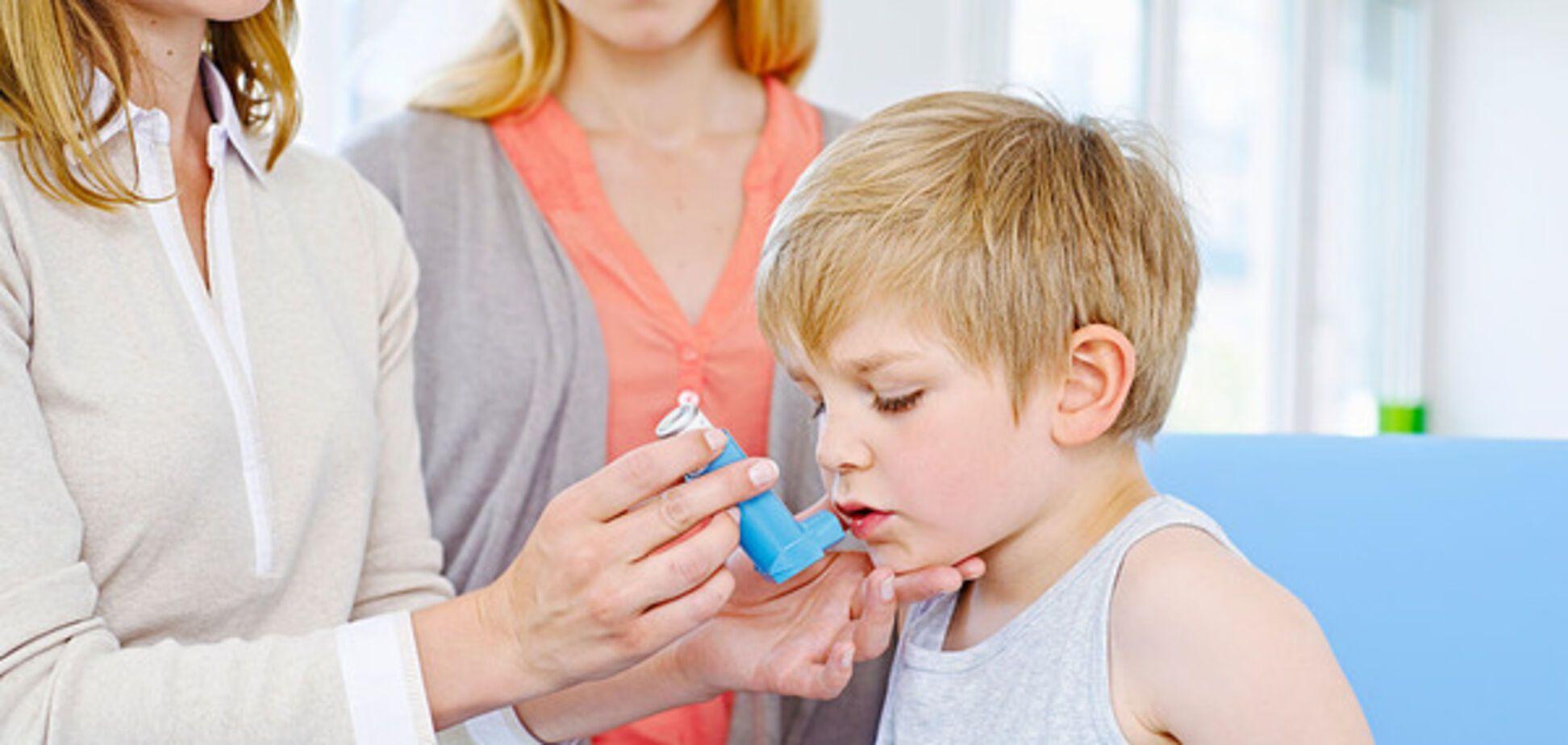 Аллергическая астма у детей: ученые обнаружили неожиданную причину