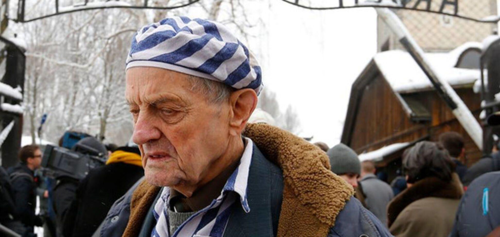 Украина – не государство? В Харькове легендарный узник Освенцима проучил путиниста
