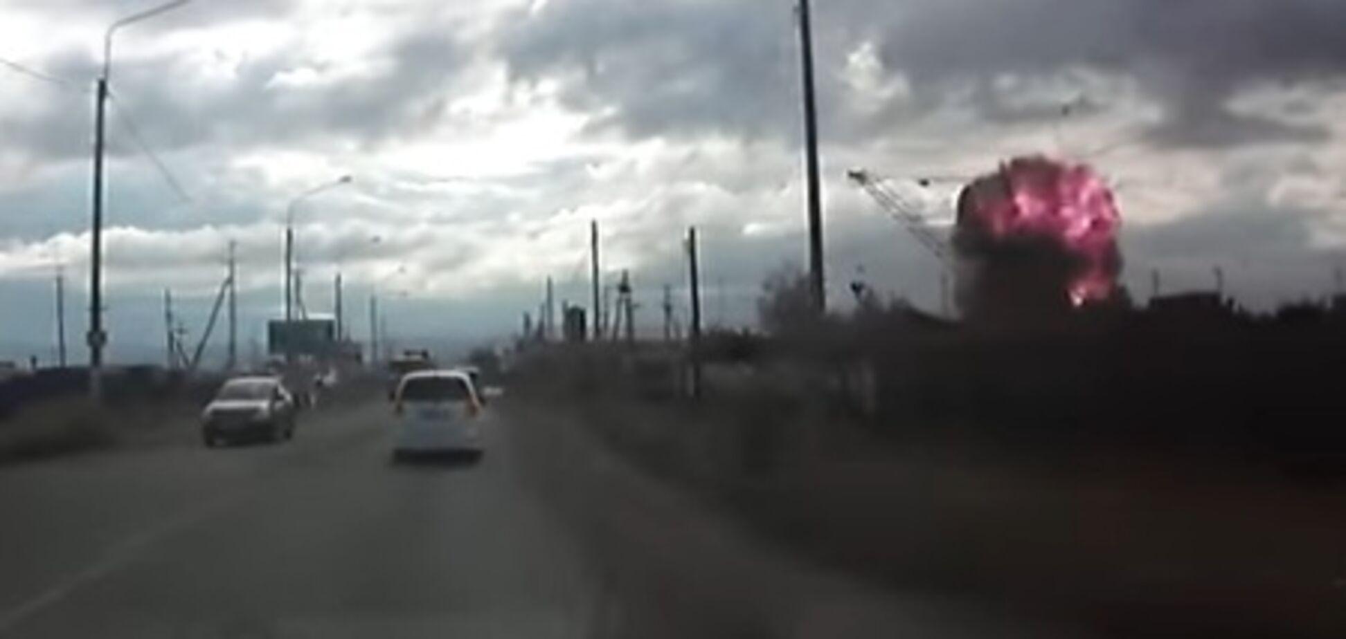 У Росії на металобрухт здали ракету від C-200: прогримів потужний вибух