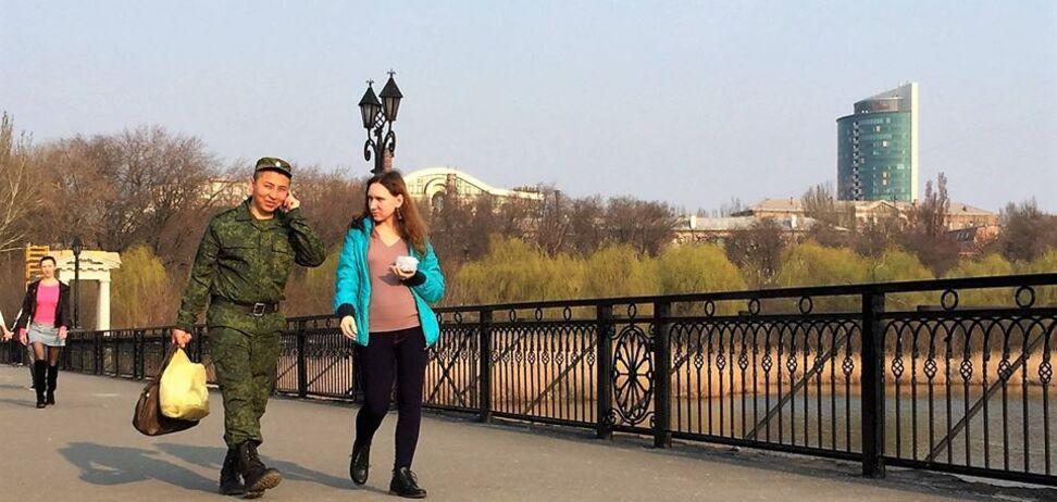 Вот кто приехал воевать на Донбасс