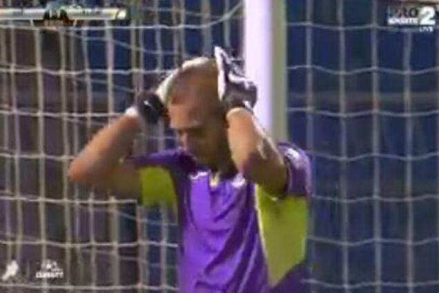 Аравийский вратарь привез один из самых нелепых автоголов сезона: видеофакт