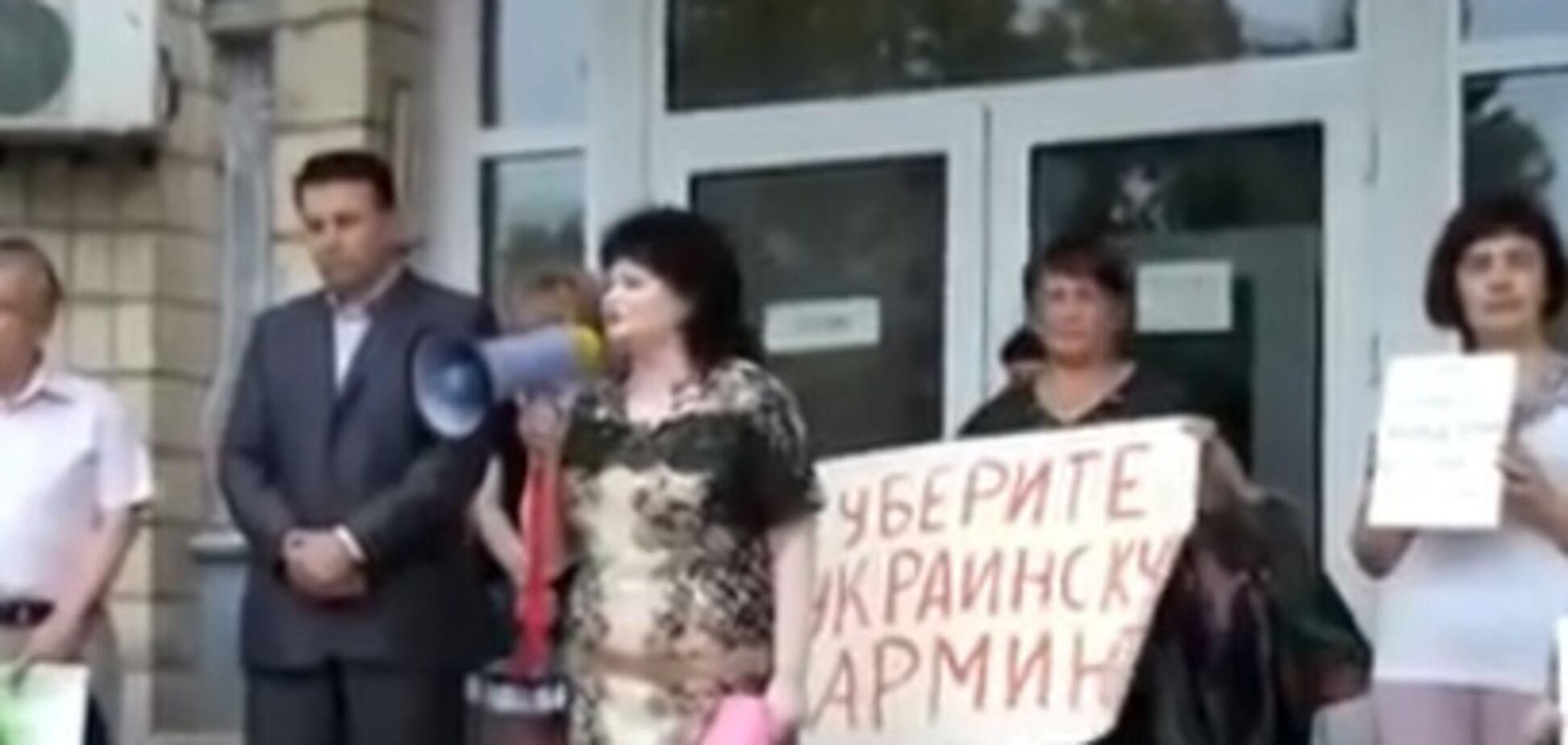 'Опять зрада': сепаратистку уличили в попытках возглавить украинскую школу