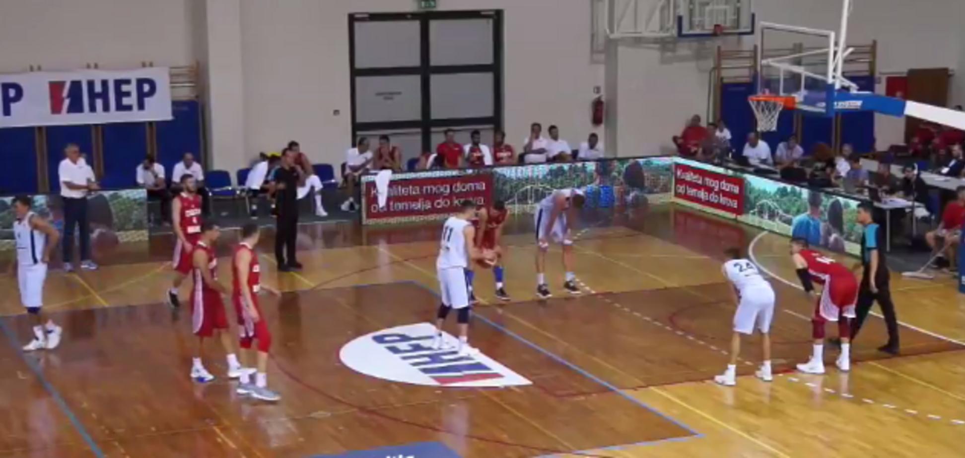 Україна Хорватія баскетбол