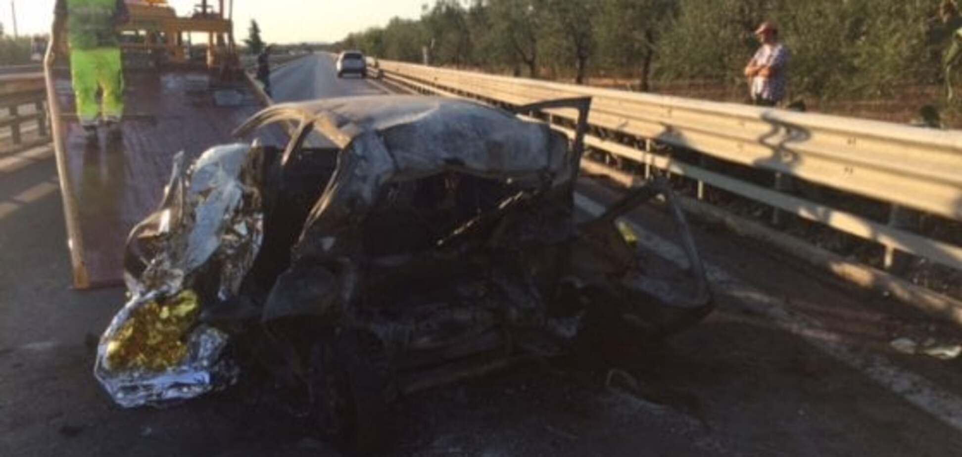 Люди сгорели прямо в машине: Италию потрясло ужасное ДТП