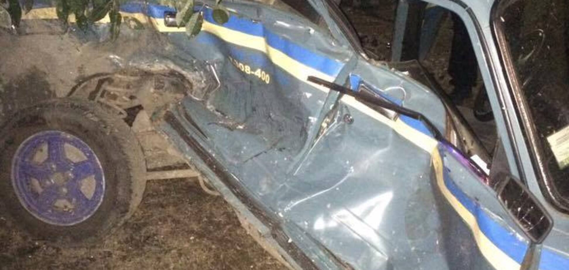 В Одесской области произошло пьяное ДТП с участием полиции: опубликованы фото