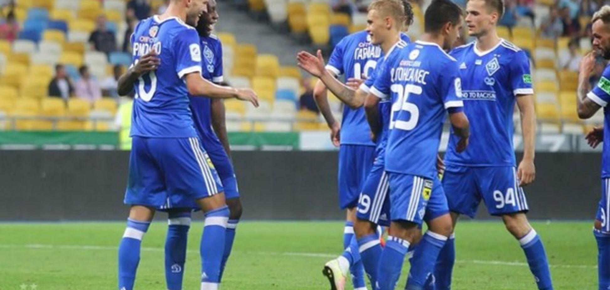 Динамо Киев Лига Европы