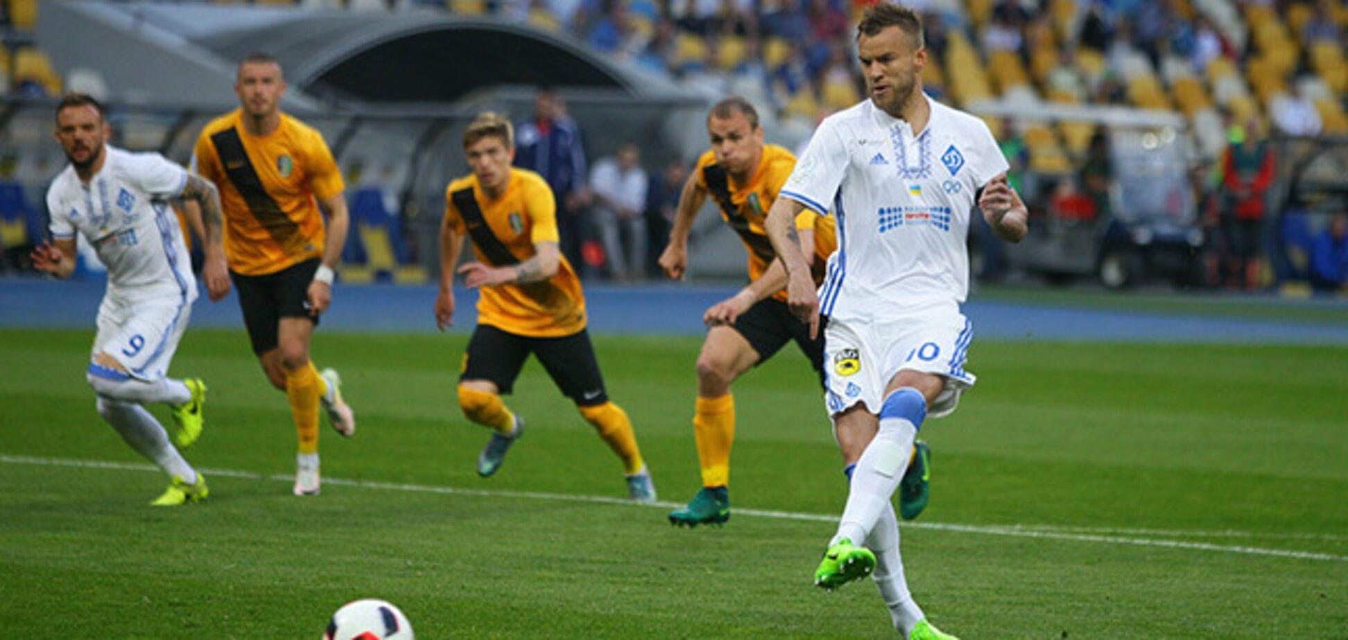 Динамо Олександрія Ліга Європи