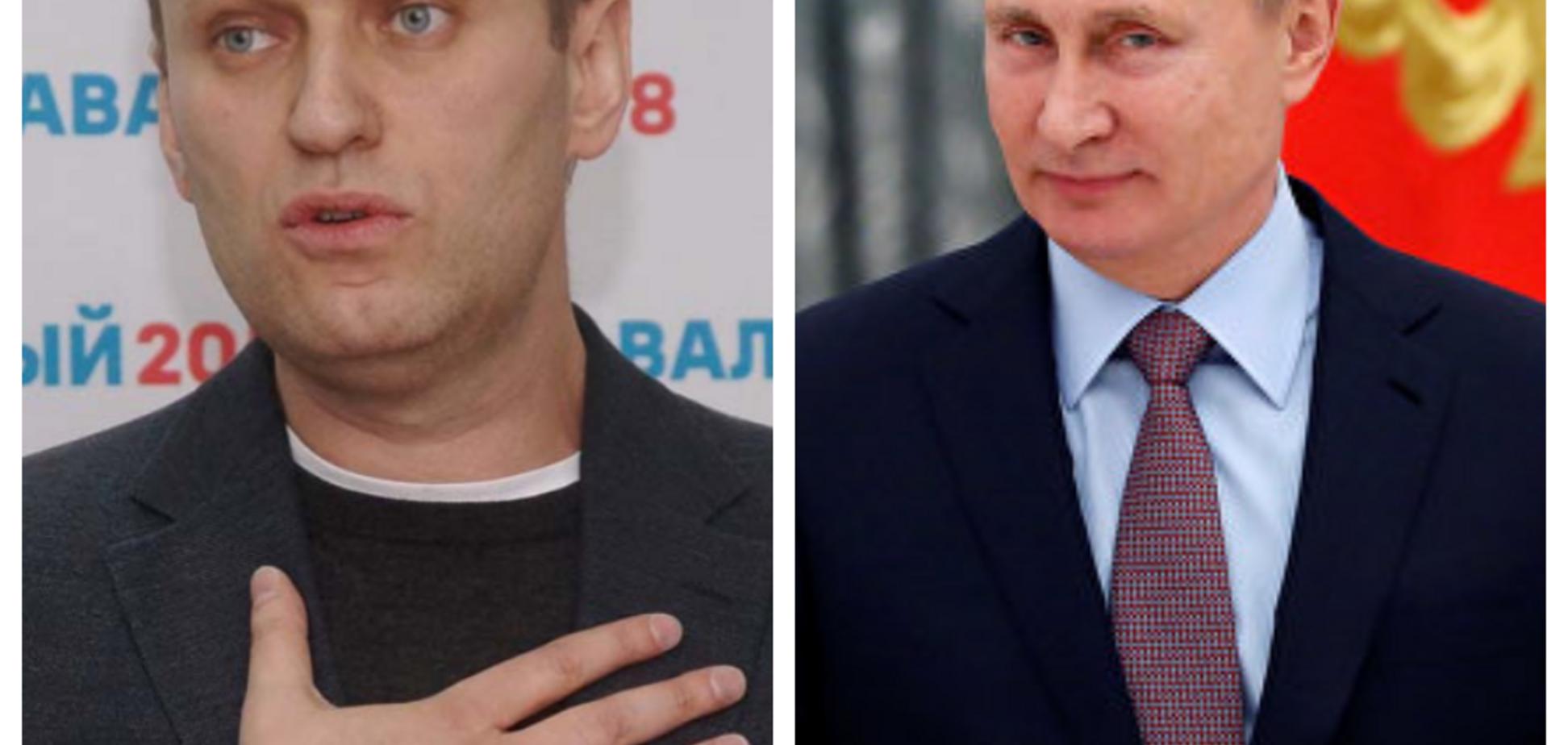 Алексей Навальный, Владимир Путин