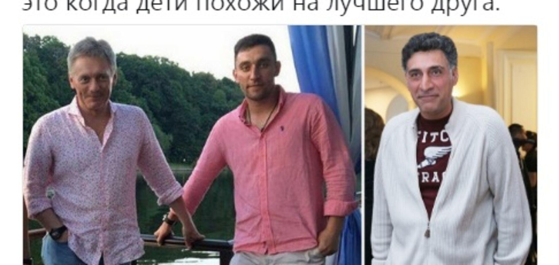 'Він його удочерив': у мережі знайшли 'справжнього' батька сина Пєскова